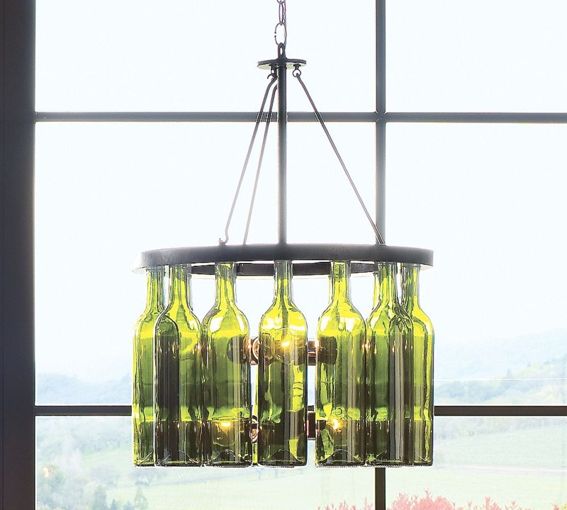how to make a lamp out of a wine bottle photo - 1
