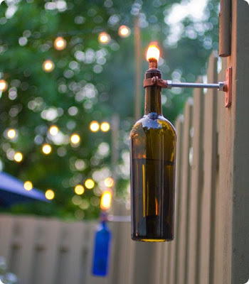 how to make a lamp out of a wine bottle photo - 10
