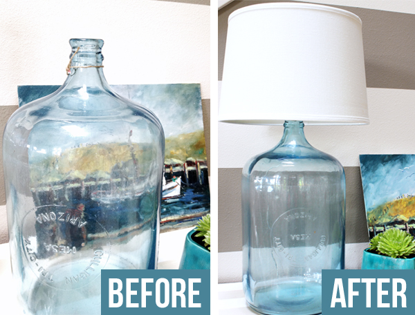how to make a lamp out of a wine bottle photo - 5