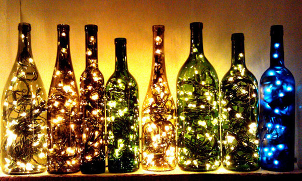 how to make a lamp out of a wine bottle photo - 7
