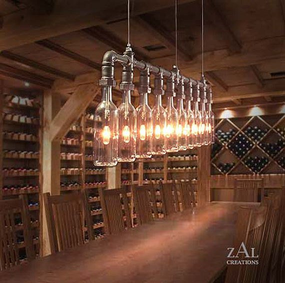 how to make a lamp out of a wine bottle photo - 9
