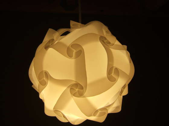 how to make a swag lamp photo - 4
