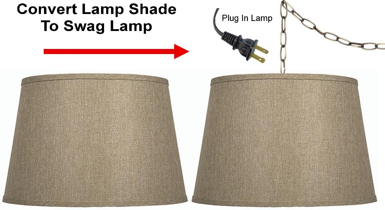 how to make a swag lamp photo - 8