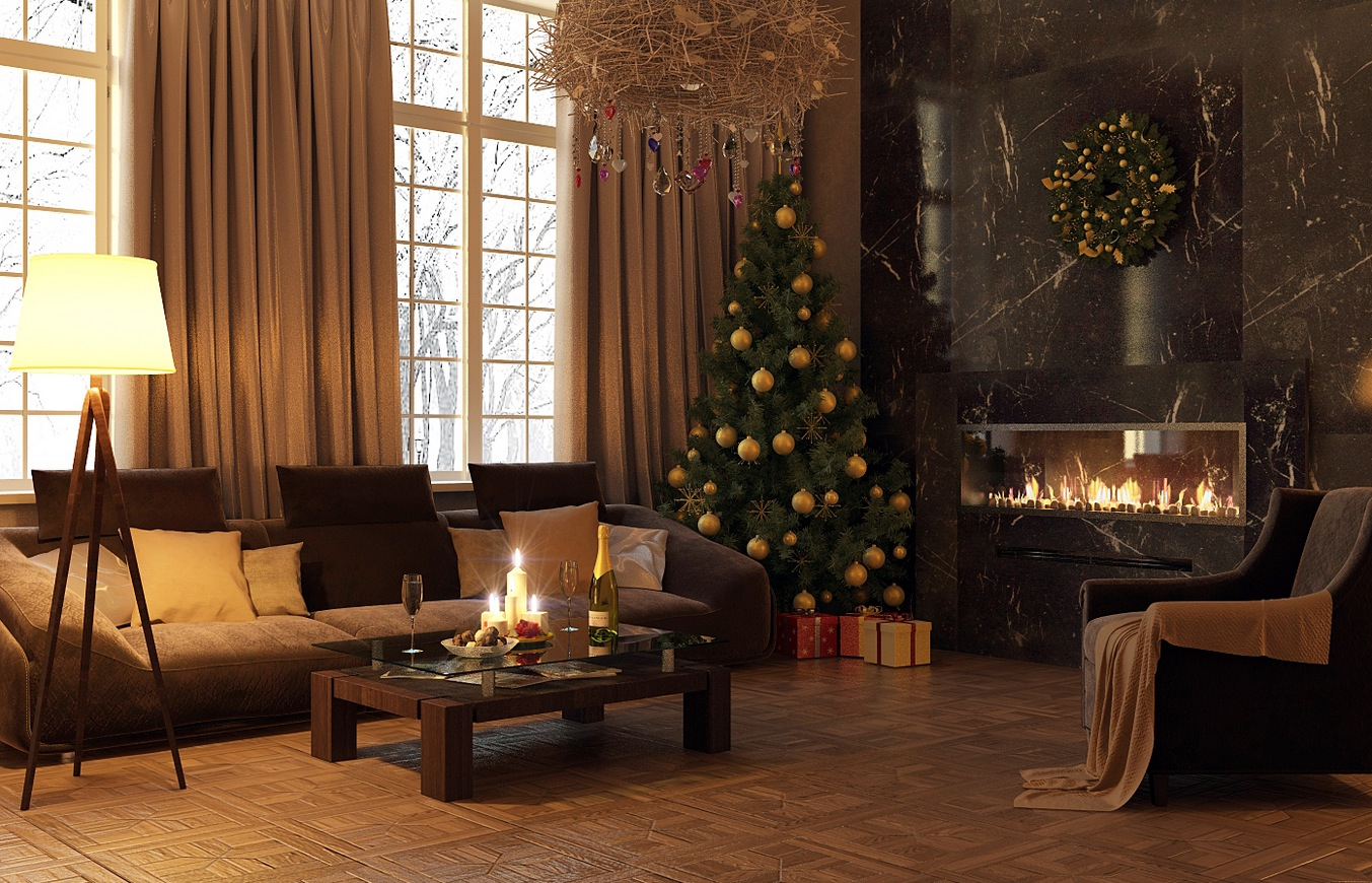 how to make a wall christmas tree with lights photo - 7
