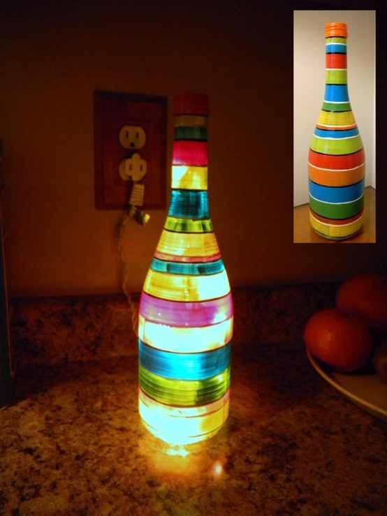 How to make a wine bottle lamp | Warisan Lighting