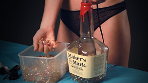 How to make liquor bottle lamps warisan lighting for How to make a lamp out of a glass bottle