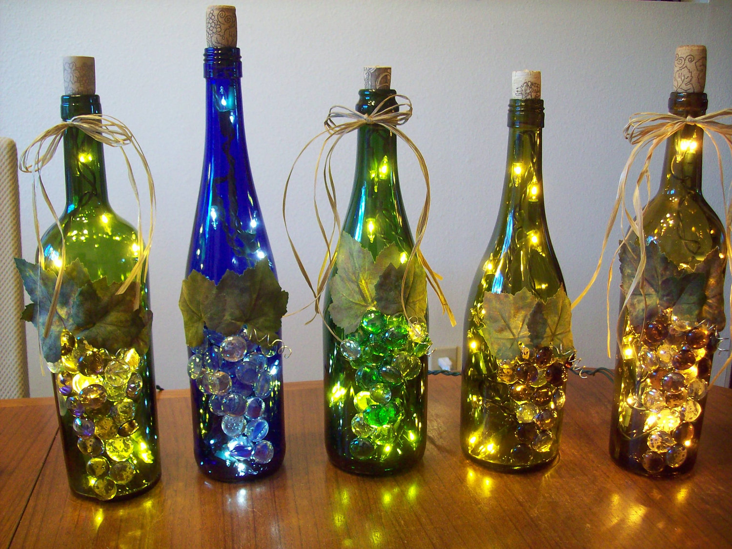 how to make wine bottle lamps photo - 3