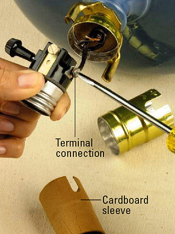 A guide on how to repair a lamp socket warisan lighting how to repair a lamp socket photo 7 greentooth Gallery
