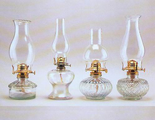 hurricane lamp glass photo - 1