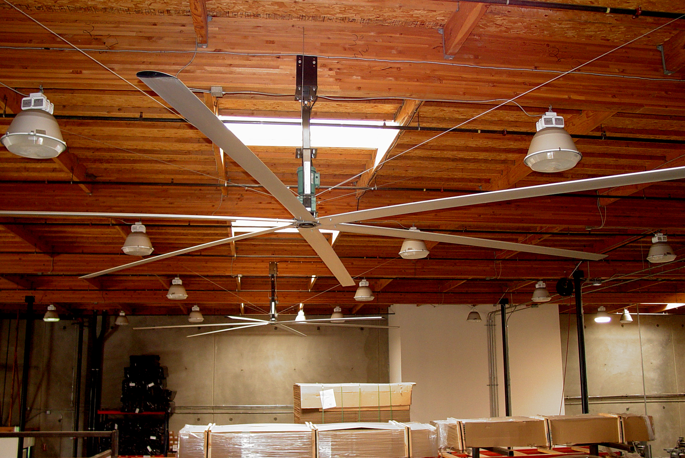 Hvls ceiling fans Great Airflow Efficiency For Your Home