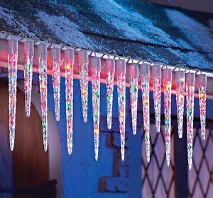 icicle christmas lights outdoor photo - 7