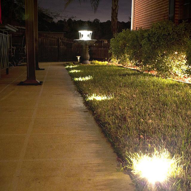in ground outdoor lighting photo - 1