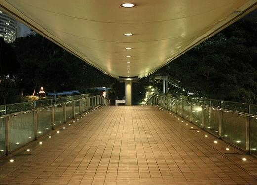 in ground outdoor lighting photo - 6
