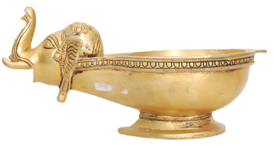 indian brass lamps photo - 5