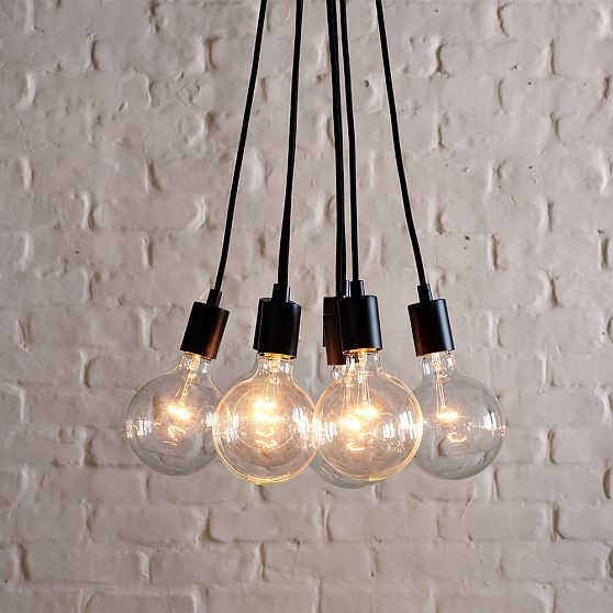 industrial ceiling lights photo - 7