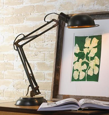 industrial desk lamps photo - 1