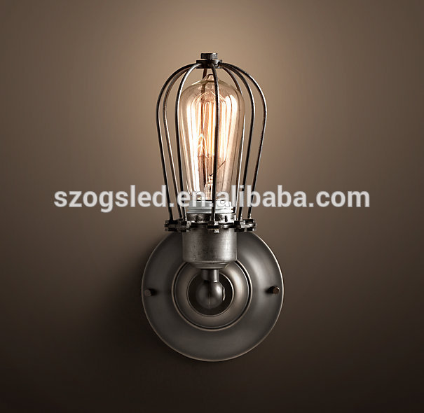 industrial outdoor wall light photo - 2