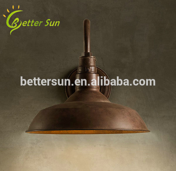industrial outdoor wall light photo - 5