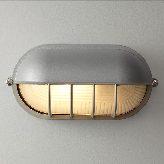 industrial outdoor wall light photo - 9
