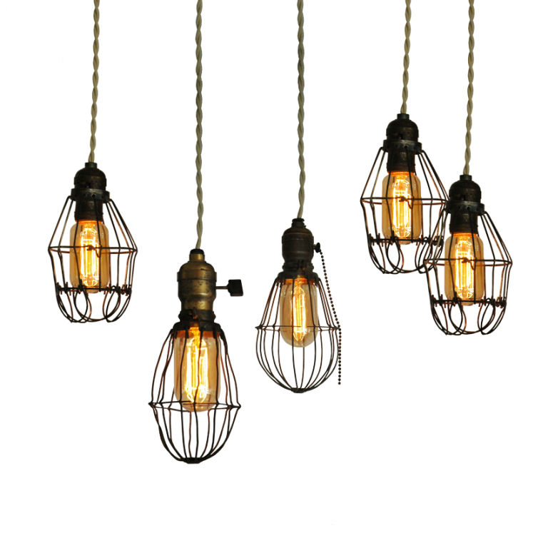 industrial pendant lamp photo - 2