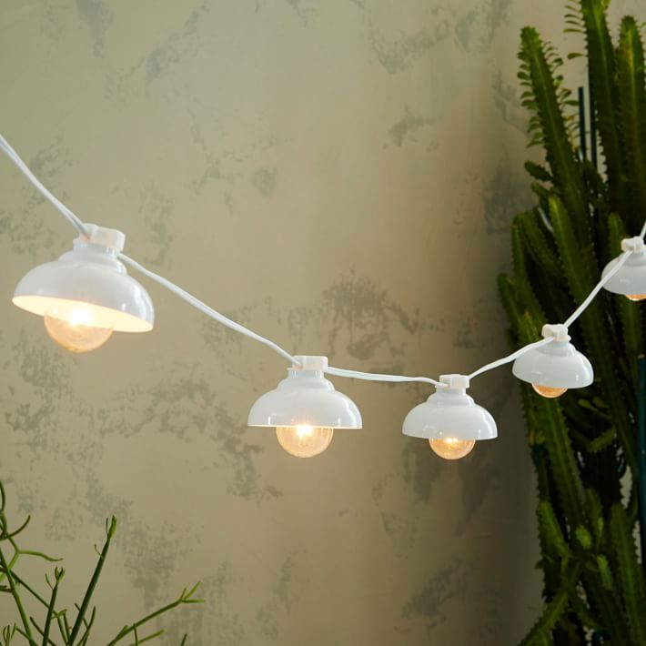 industrial string lights outdoor photo - 6