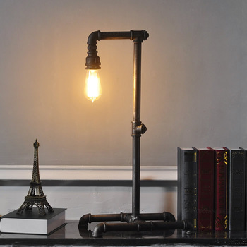industrial style table lamps photo - 9
