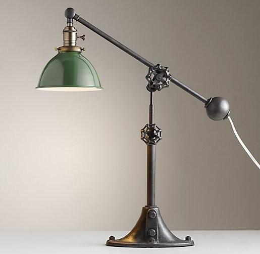 industrial task lamp photo - 2