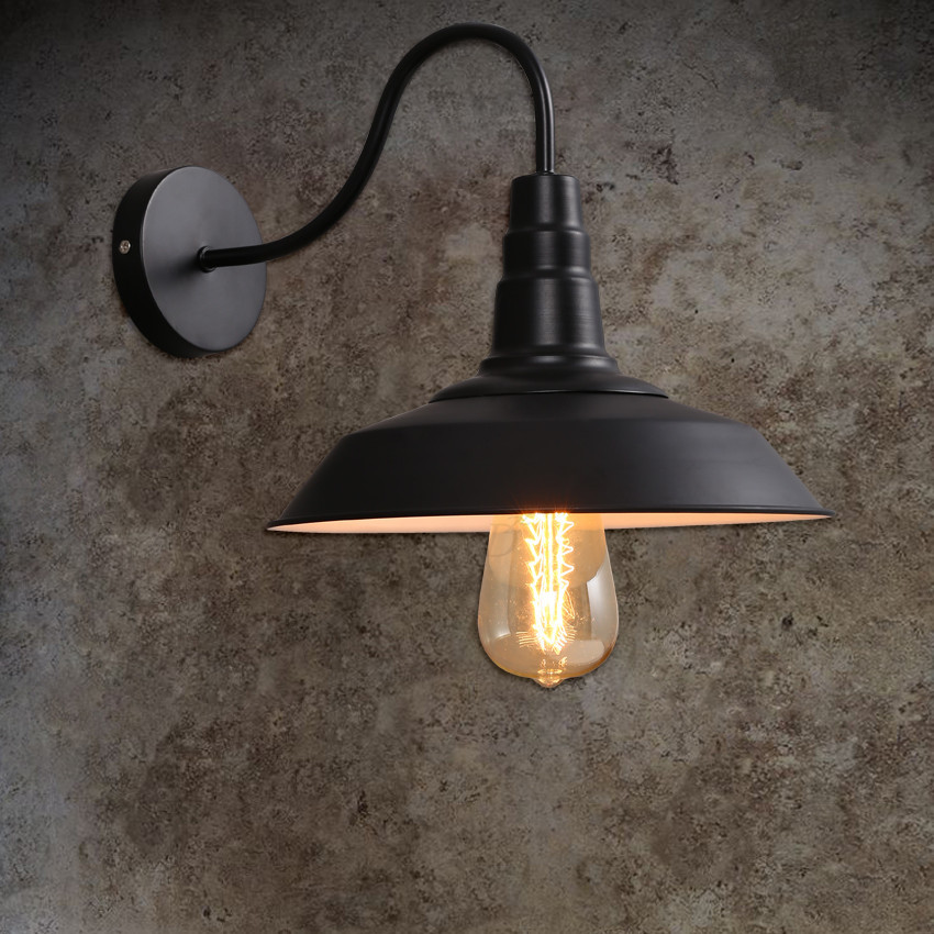 Industrial Lighting Wall Lights : Accessorize Your Home Bar With Antique Retro Industrial Wall Lights Warisan Lighting