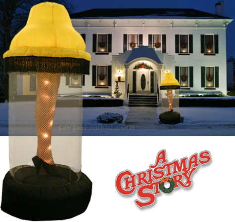inflatable leg lamp photo - 4