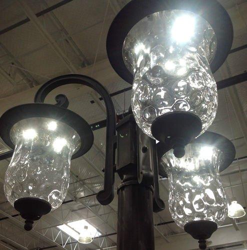 Innova Lighting Led 3 Light Outdoor Lamp Post Beauty And