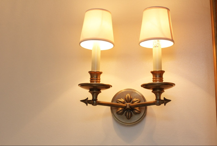Brighten your decor with interior wall mount light for A lamp and fixture