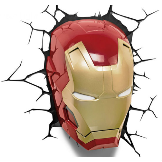 iron man wall light photo - 2