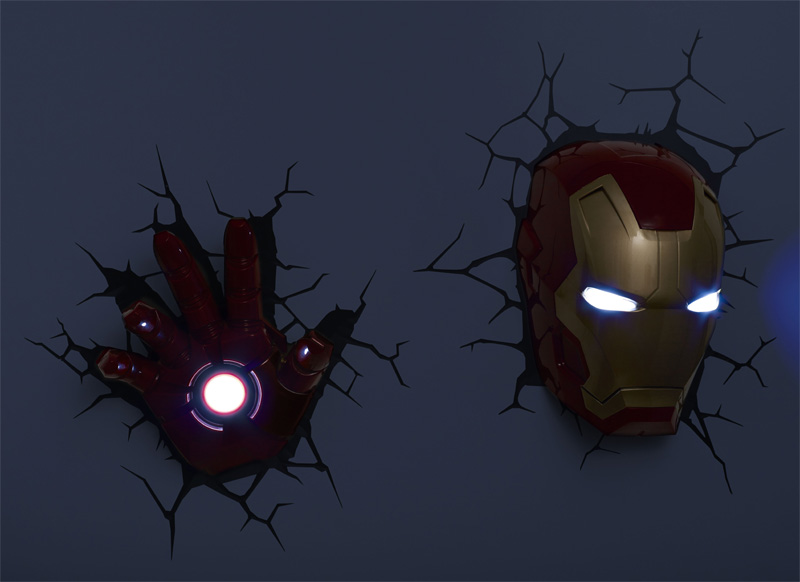 iron man wall light photo - 7