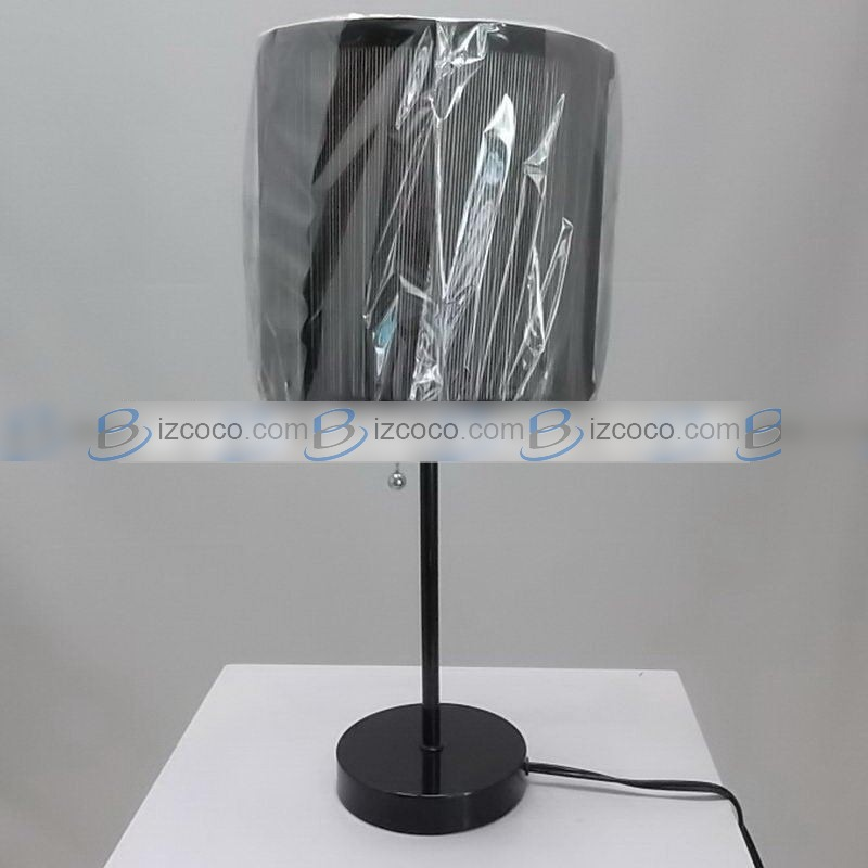 iron table lamp photo - 6