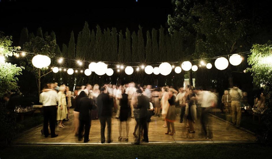 italian outdoor lights photo - 1