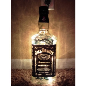 jack daniels bottle lamp photo - 1