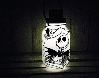 jack skellington lamp photo - 10