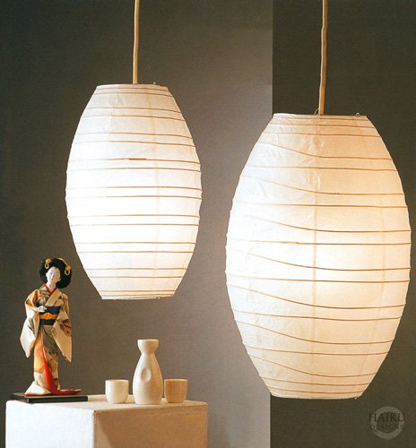 japanese lantern lamp photo - 10