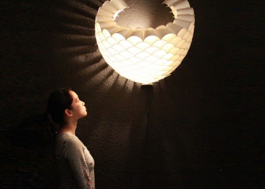 japanese paper lamps photo - 2