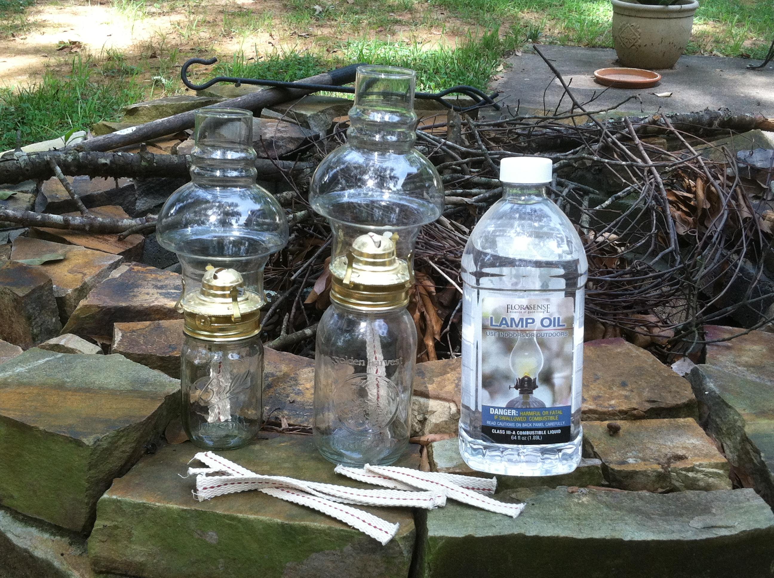 jar lamps photo - 2