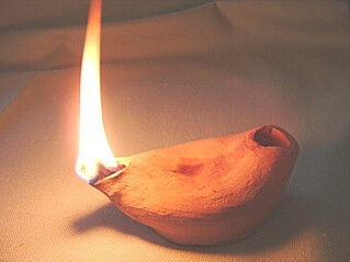 jewish lamp photo - 1