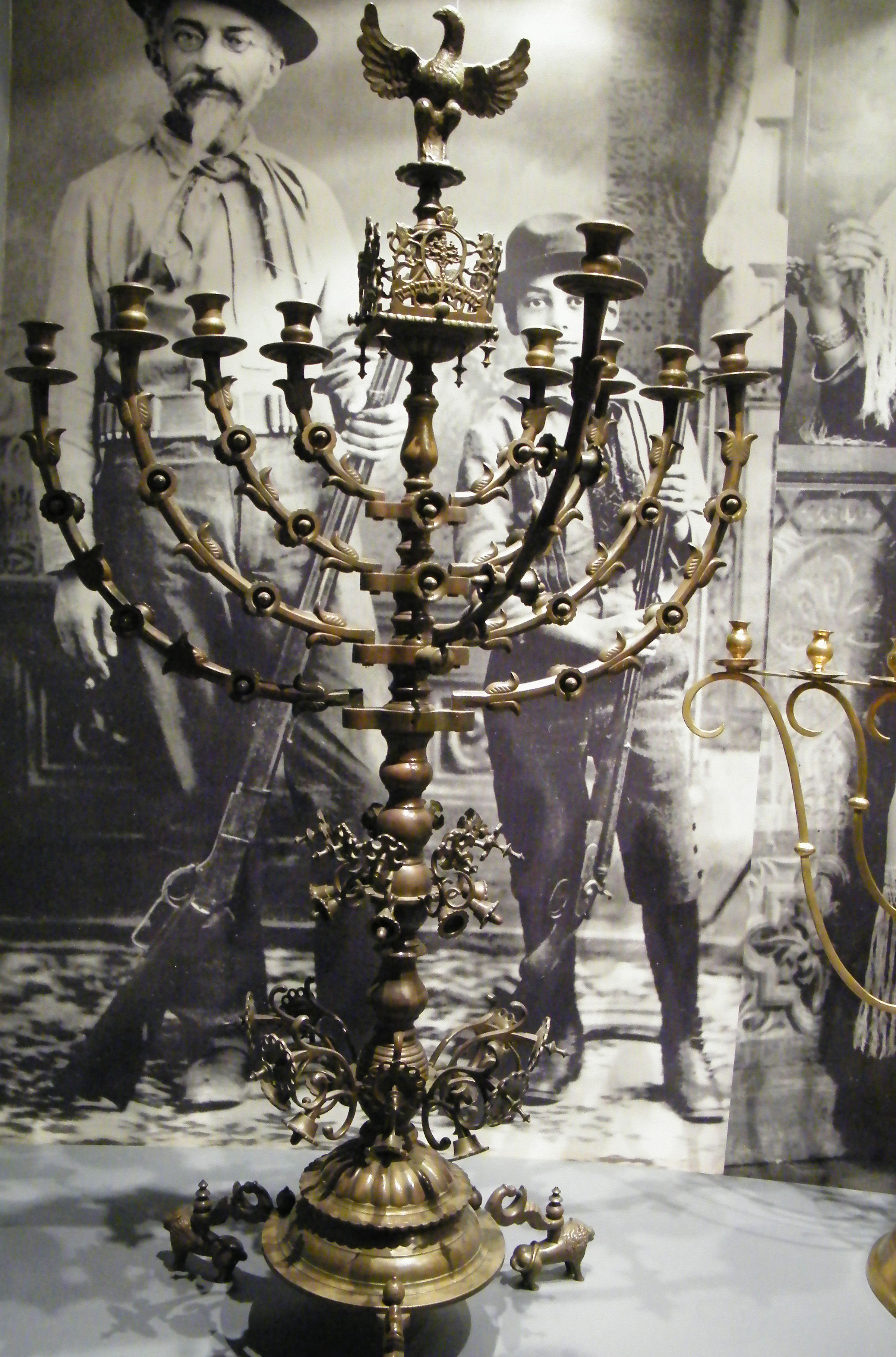jewish lamp photo - 7