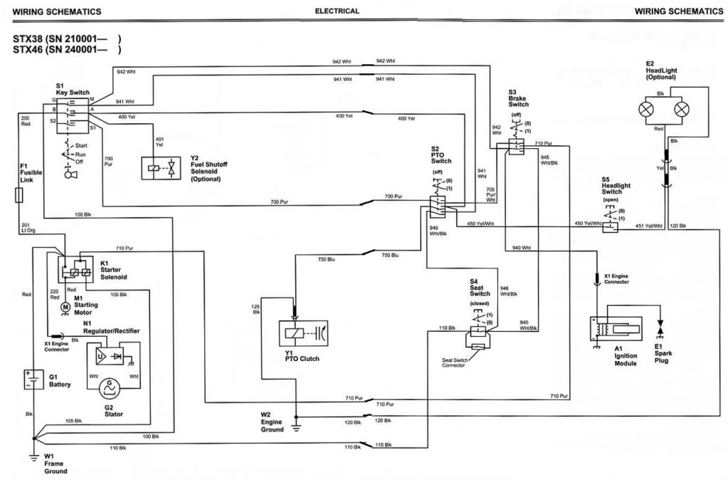 John Deere 185 Hydro Wiring Diagram : John deere lamps warisan lighting