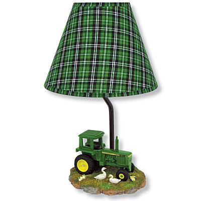 john deere tractor lamp photo - 1