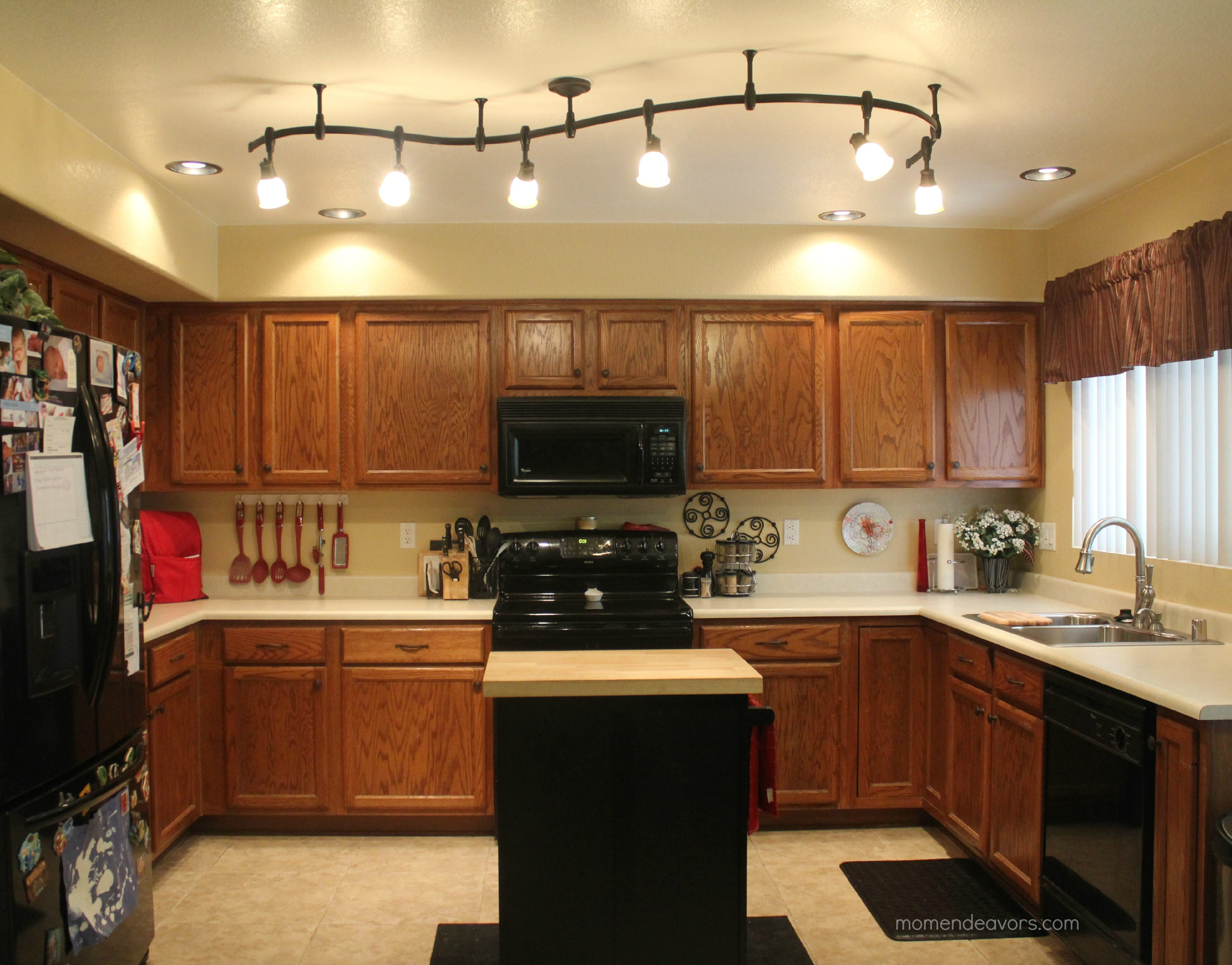 kitchen ceiling lights fluorescent photo - 5