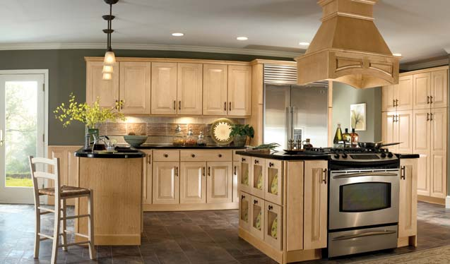 Colors For Kitchens With Light Cabinets
