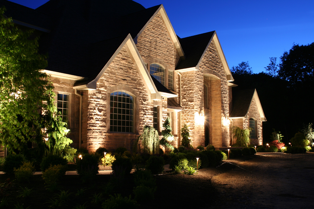 landscape outdoor lighting photo - 10