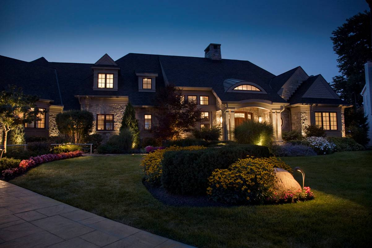 landscape outdoor lighting photo - 3