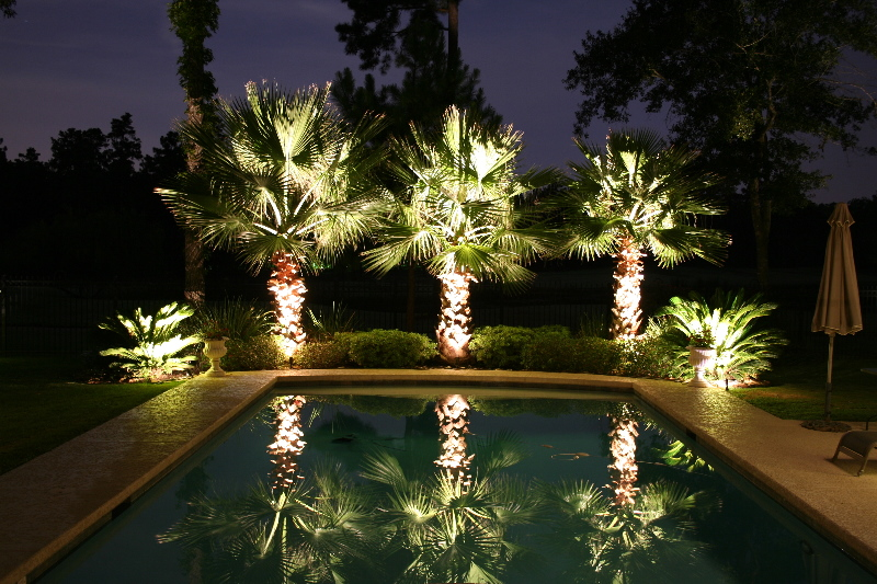 landscape outdoor lighting photo - 4