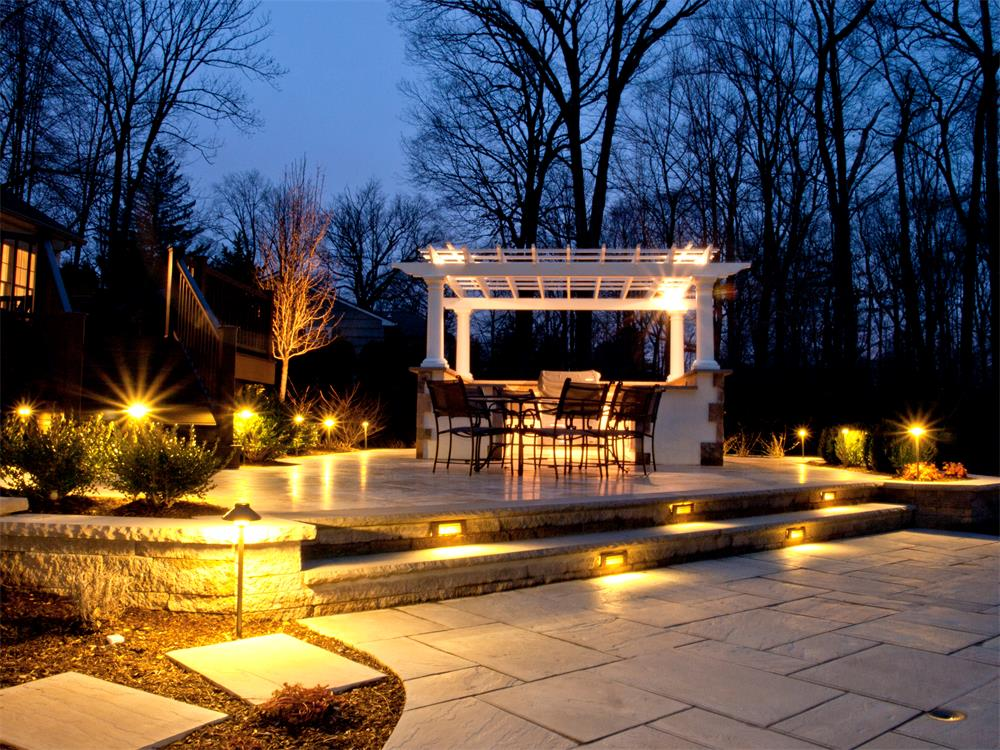 landscape outdoor lighting photo - 5